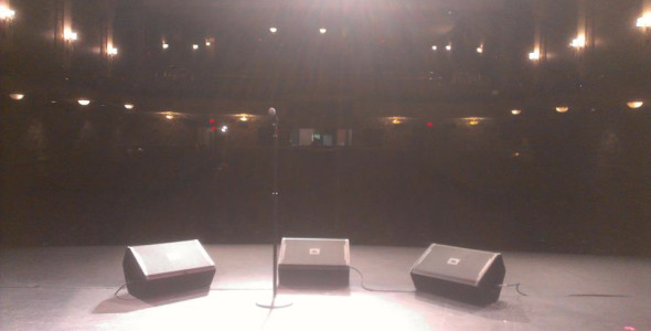 JBL VRX915m at Lincoln Theater, Washington DC