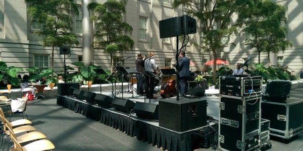 take 5 jazz concert at the smithsonian in washington dc with klassic sound