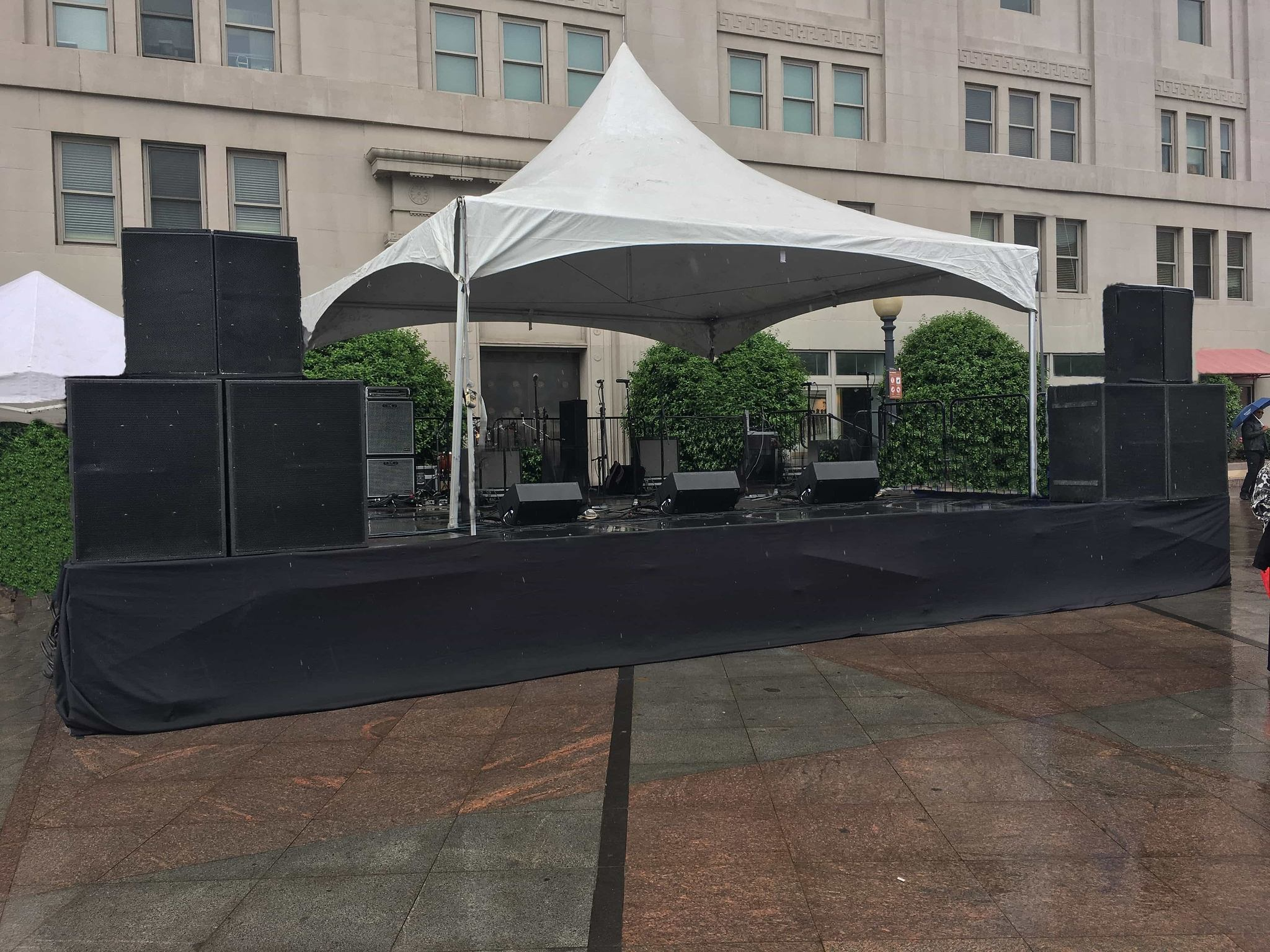 concert staging and live sound