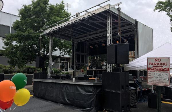 Virginia Mobile Stage Rental