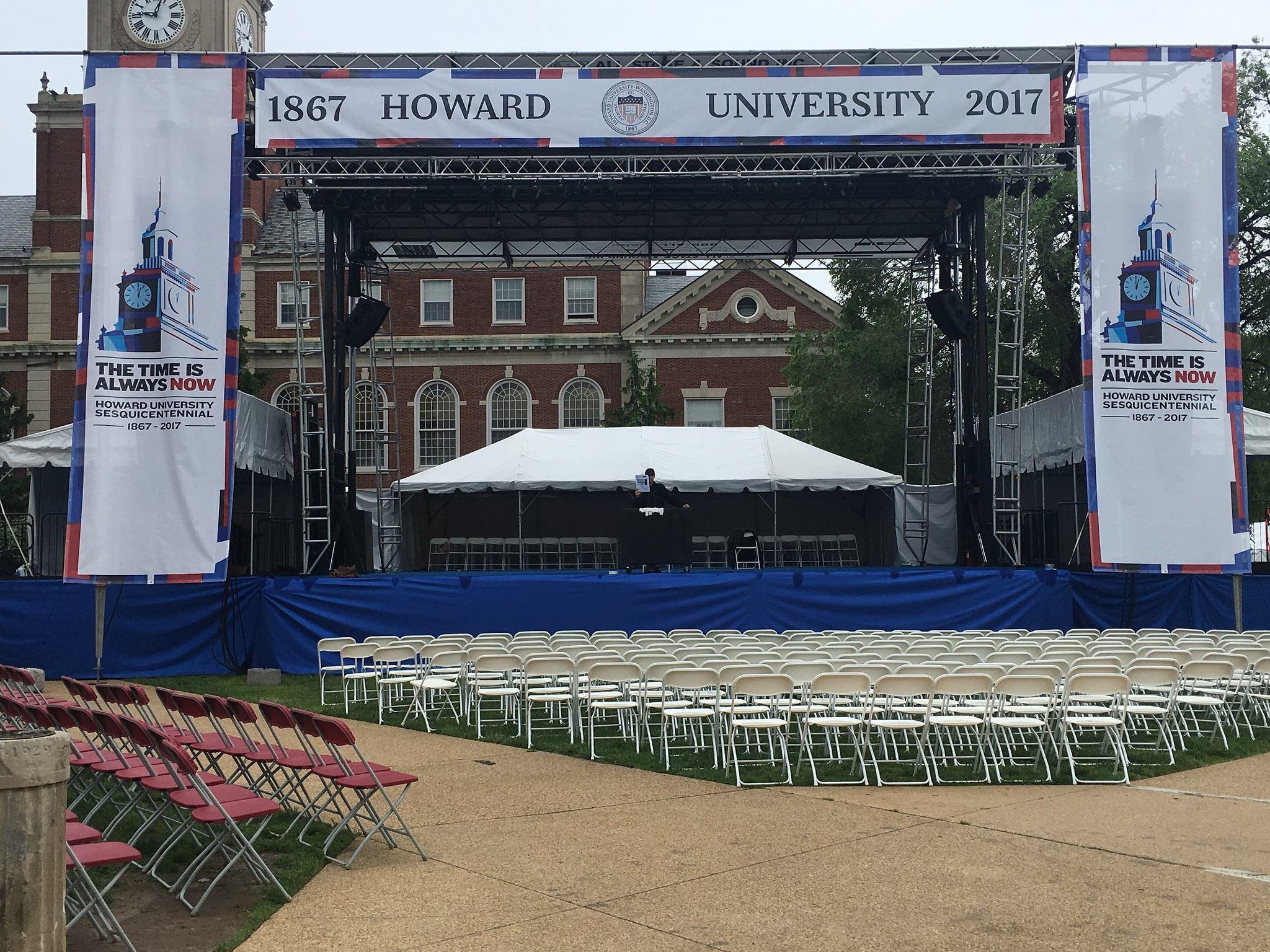 Howard University Graduation