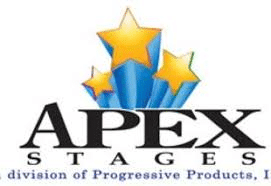 Apex Stages is a leading manufacturer of mobile stages in North America. They are built strong and offer an impressive amount of load bearing support for Audio, Video, and Lighting equipment. The banner package is an attractive option for promoting brands and messages. With a quick set-up time, typically under 90- minutes with a two-person crew, Apex Mobile Stages are a logistically smart, and economical solution for concerts, street festivals, fairs, and community events.
