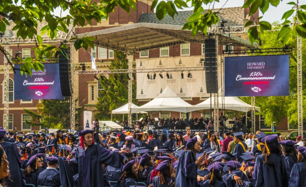 Howard University Graduation Ceremony