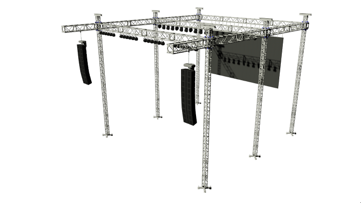 Self Climbing Structure Production Rigging Klassic