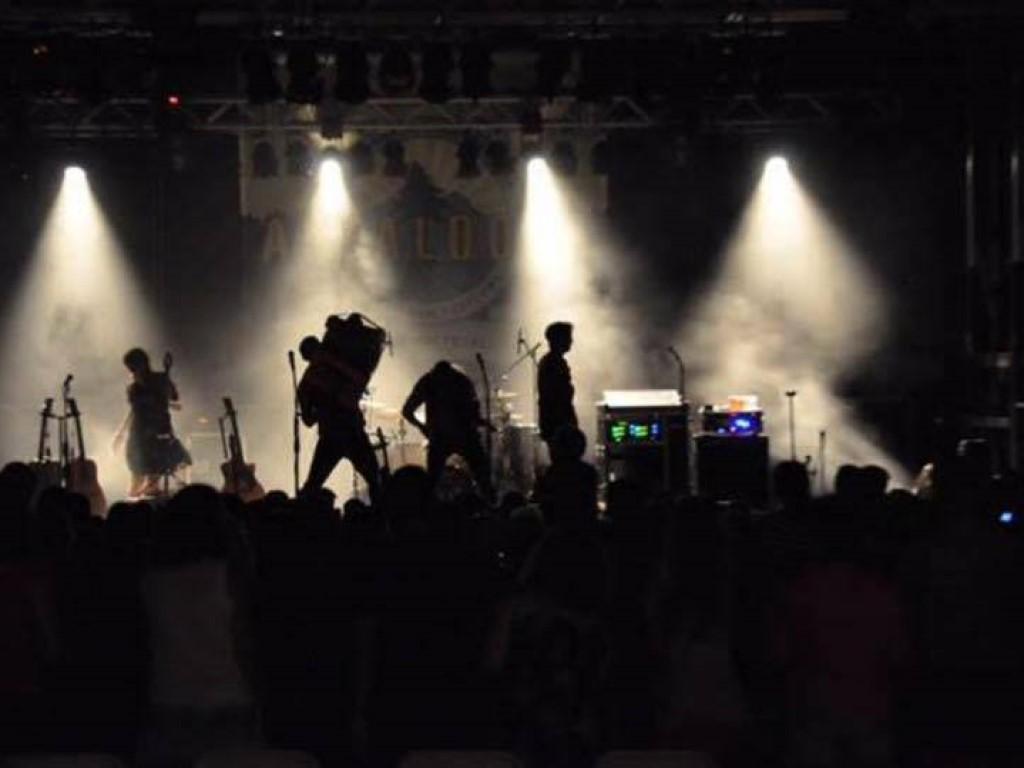 appaloosa music festival. live sound event production mobile stage rental. Front Royal VA
