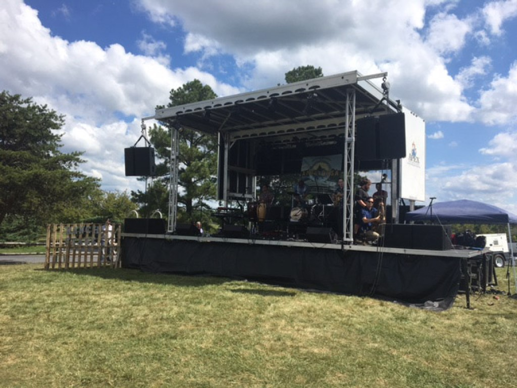 Apex 2016 Mobile Stage rental_2016 Appaloosa music festival_Front Royal, Virginia_