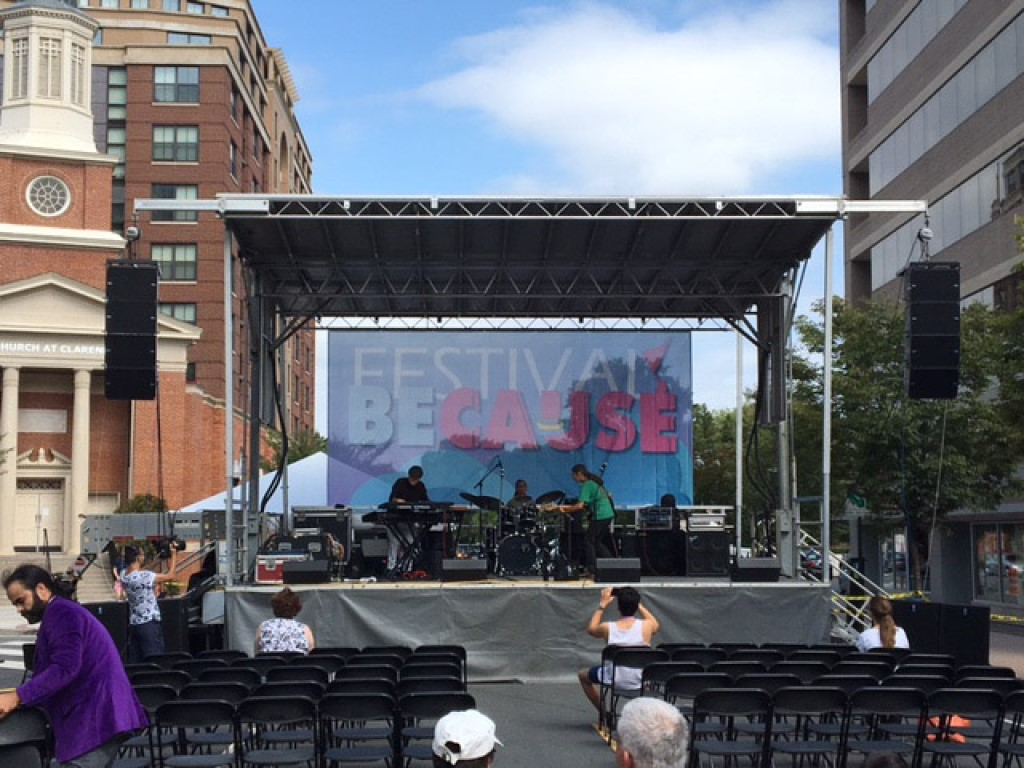 Copy of Sound system rental with an Stageline SL100 in Arlington Virginia_