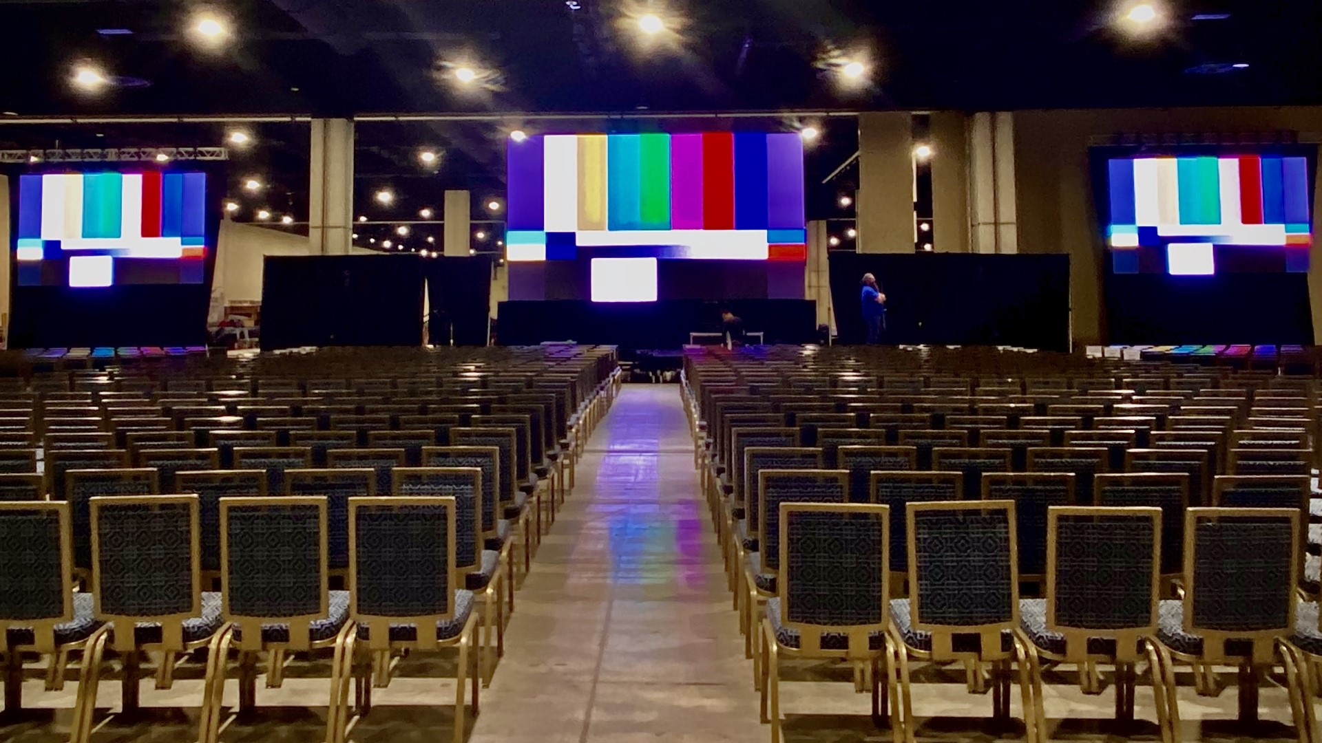 LED Video Walls provided by Klassic Sound & Stage.