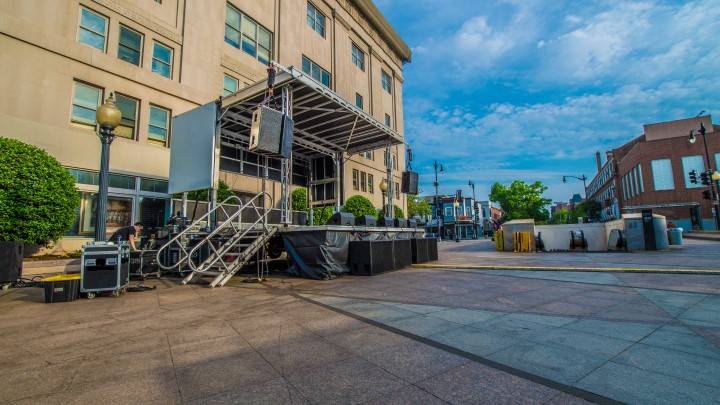 apex mobile stage rental available near me