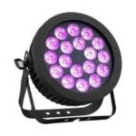 Static color changing LED wash lighting fixture for concerts.