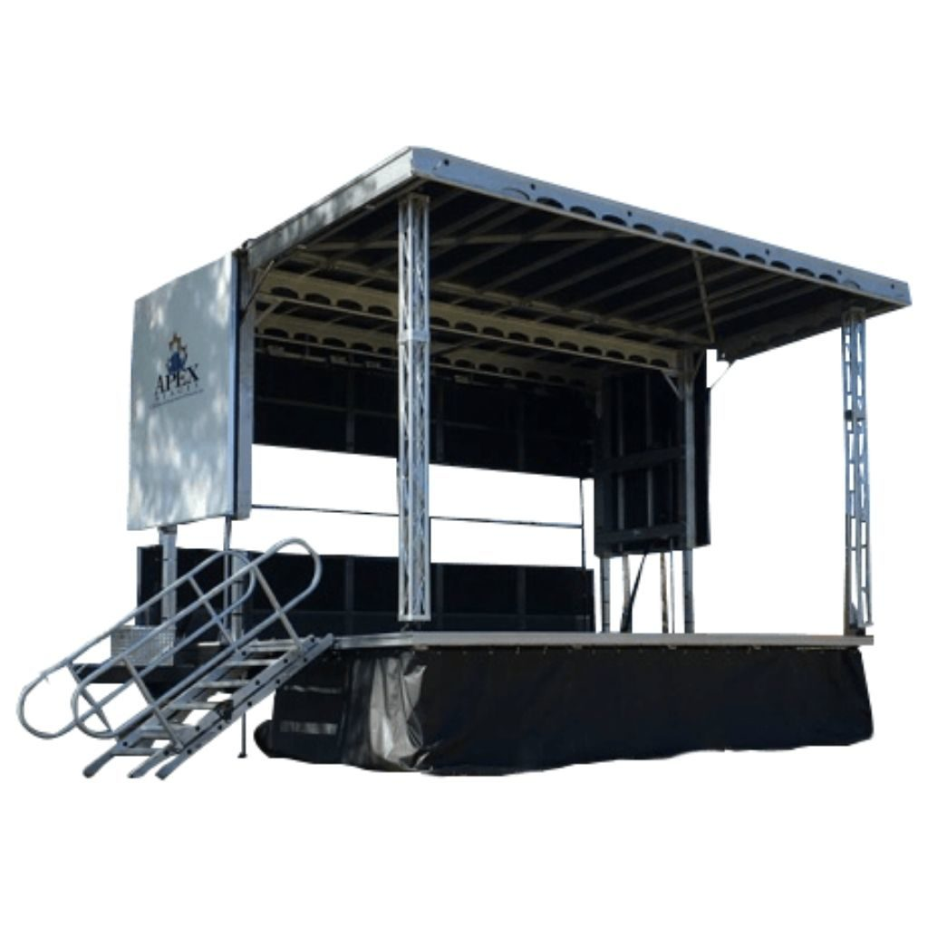 cut out of our apex 2016 mobile stage that we uses all over the maryland, DC and virginia
