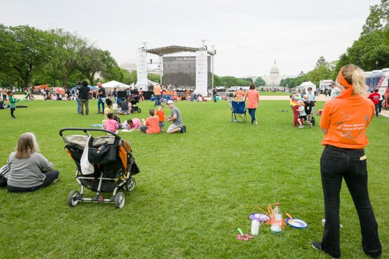 Full production provided for event on National Mall in Washington DC