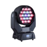 Intelligent moving LED stage light that washes the area it shines on.