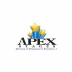 Apex Mobile Stages is a manufacturer that Klassic Sound and Stage uses in our event equipment rental inventory.